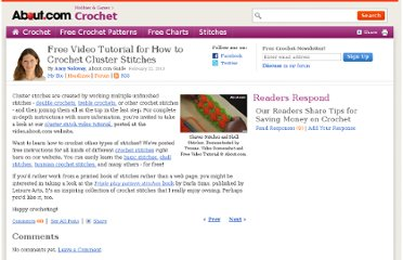 http://crochet.about.com/b/2011/04/18/how-to-crochet-cluster-stitches.htm