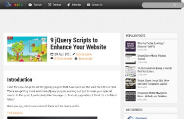 http://www.queness.com/post/7565/9-jquery-scripts-to-enhance-your-website