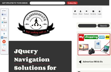 http://bloggerspath.com/14-jquery-navigation-menu-for-your-websites/