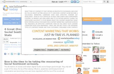 http://socialmediatoday.com/nick-bennett/287405/4-great-free-tools-measure-social-sentiment-and-4-important-stats
