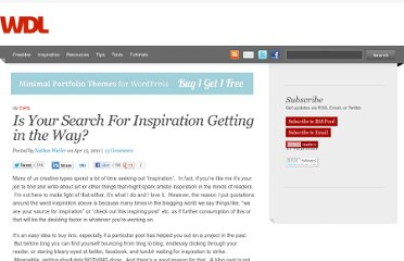 http://webdesignledger.com/tips/is-your-search-for-inspiration-getting-in-the-way