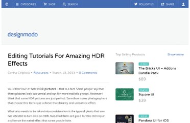 http://designmodo.com/editing-tutorials-for-amazing-hdr-effects/