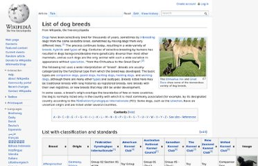 http://en.wikipedia.org/wiki/List_of_dog_breeds