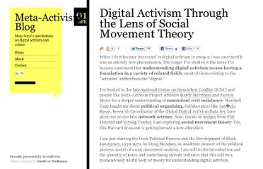 http://www.meta-activism.org/2011/04/digital-activism-through-the-lens-of-social-movement-theory/