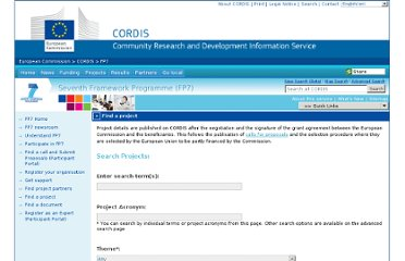 http://cordis.europa.eu/fp7/projects_en.html