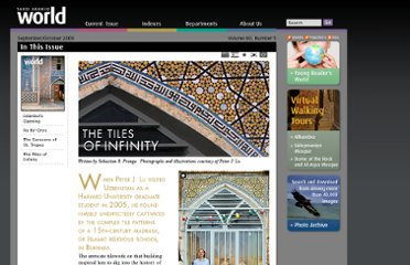 http://www.saudiaramcoworld.com/issue/200905/the.tiles.of.infinity.htm