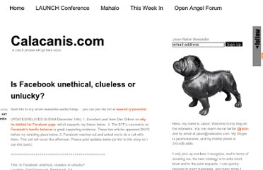 http://calacanis.com/2009/12/13/is-facebook-unethical-clueless-or-unlucky/
