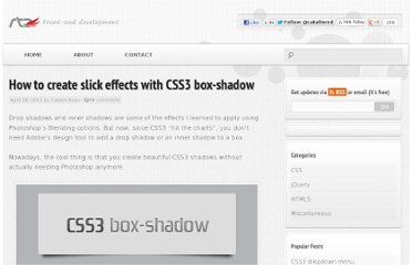 http://www.red-team-design.com/how-to-create-slick-effects-with-css3-box-shadow