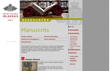 http://www.centreculturelirlandais.com/modules/movie/scenes/home/index.php?fuseAction=manuscrits