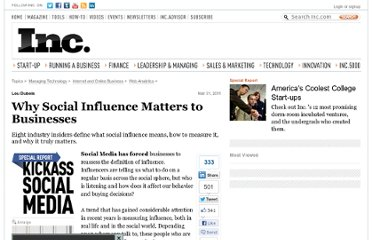 http://www.inc.com/guides/201103/why-social-influence-matters-to-businesses.html