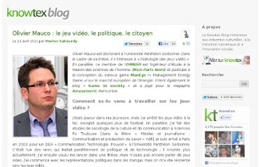http://www.knowtex.com/blog/olivier-mauco-le-jeu-video-le-politique-le-citoyen/