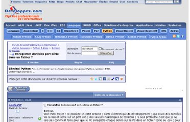 http://www.developpez.net/forums/d1035036/autres-langages/python-zope/general-python/enregistrer-donnees-port-serie-fichier/