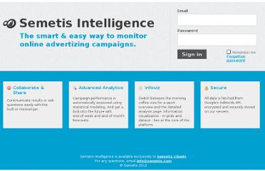 https://intelligence.semetis.com/login?from=/metrics