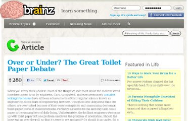 http://brainz.org/news/over-or-under-great-toilet-paper-debate/5659/