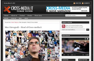 http://www.cross-media.it/info/max-giovagnoli/