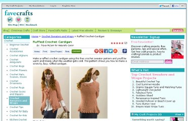 http://www.favecrafts.com/Crochet-Sweaters/Ruffled-Crochet-Cardigan-from-Naturally-Caron/ml/1