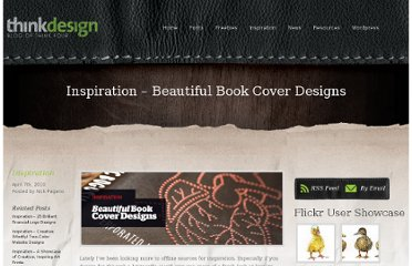 http://thinkdesignblog.com/inspiration-beautiful-book-cover-designs.htm
