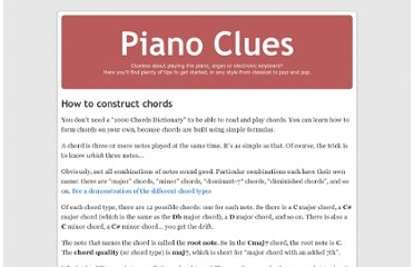 http://www.pianoclues.com/2008/01/11/how-to-construct-chords/