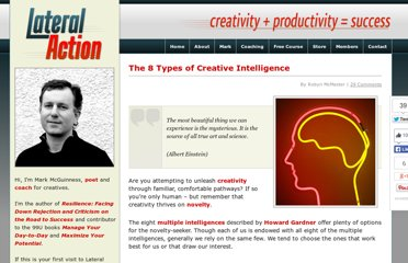 http://lateralaction.com/articles/multiple-intelligences/