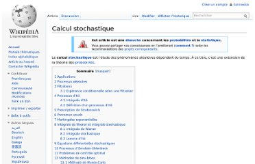 http://fr.wikipedia.org/wiki/Calcul_stochastique