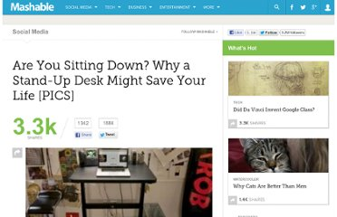 http://mashable.com/2011/04/22/standup-desks/