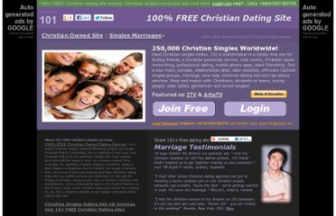 FREE Christian Dating Service † Christian Singles Site, Personals, Christian ...