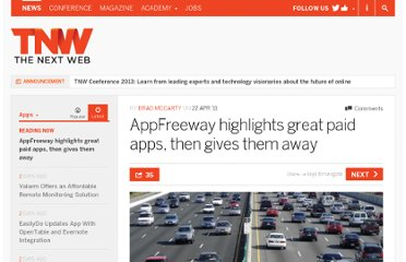http://thenextweb.com/apps/2011/04/22/appfreeway-highlights-great-paid-apps-then-gives-them-away/