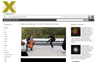 http://mixingreality.com/2011/04/spike-jonze-captures-yo-yo-ma-lil-buck-performance/