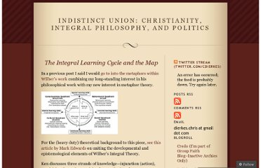 http://indistinctunion.wordpress.com/2009/05/23/the-integral-learning-cycle-and-the-map/