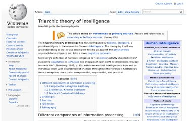 http://en.wikipedia.org/wiki/Triarchic_theory_of_intelligence