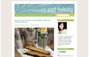 http://17andbaking.com/2010/04/11/for-the-love-of-chocolate-dipped-almond-orange-biscotti/#more-1482