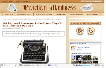 http://www.practicalmanliness.com/101-keyboard-shortcuts-little-known-ways-to-save-time-and-do-more/
