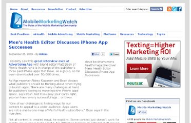 http://www.mobilemarketingwatch.com/mens-health-editor-discusses-iphone-app-successes-4019/