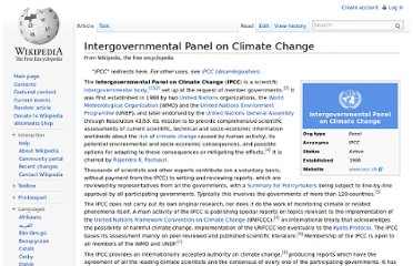 http://en.wikipedia.org/wiki/Intergovernmental_Panel_on_Climate_Change