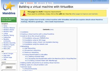 http://wiki.mandriva.com/en/Building_a_virtual_machine_with_VirtualBox