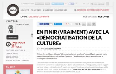 http://owni.fr/2011/04/24/democratisation-culture/