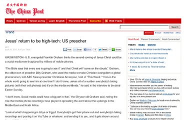 http://www.chinapost.com.tw/international/americas/2011/04/24/299791/Jesus-return.htm