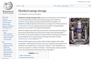 http://en.wikipedia.org/wiki/Flywheel_energy_storage