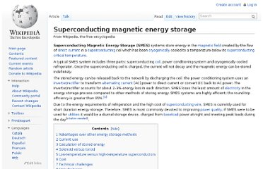 http://en.wikipedia.org/wiki/Superconducting_magnetic_energy_storage