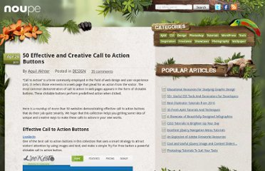 http://www.noupe.com/design/50-effective-and-creative-call-to-action-buttons.html