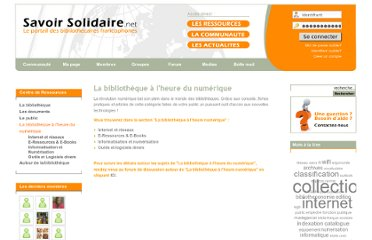 http://www.savoirsolidaire.net/index.php?option=com_content&view=section&id=8&Itemid=5