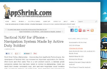 http://www.appshrink.com/application-press-releases/tactical-nav-for-iphone-navigation-system-made-by-active-duty-soldier/