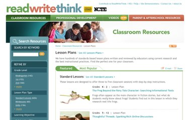 http://www.readwritethink.org/classroom-resources/lesson-plans/