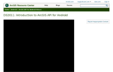 http://resources.arcgis.com/gallery/video/arcgis-android/details?entryID=DBE46491-1422-2418-885D-94046C9C2995