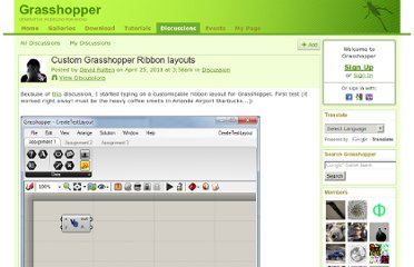http://www.grasshopper3d.com/forum/topics/custom-grasshopper-ribbon