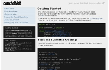 http://couchdbkit.org/docs/gettingstarted.html