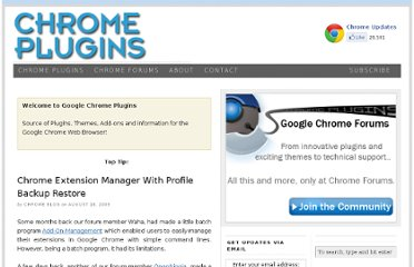 http://www.chromeplugins.org/applications/chrome-extension-manager-with-profile-backup-restore/