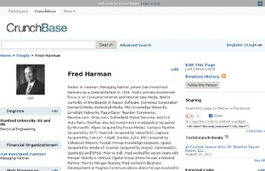 http://www.crunchbase.com/person/fred-harman-2