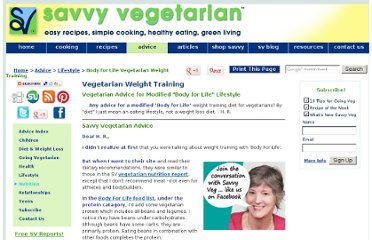 http://www.savvyvegetarian.com/vegetarian-advice/weight-training-vegetarian-diet.php