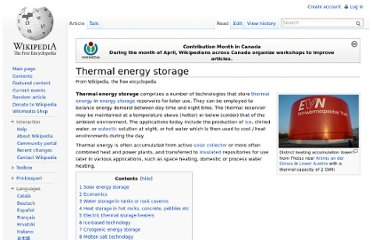 http://en.wikipedia.org/wiki/Thermal_energy_storage